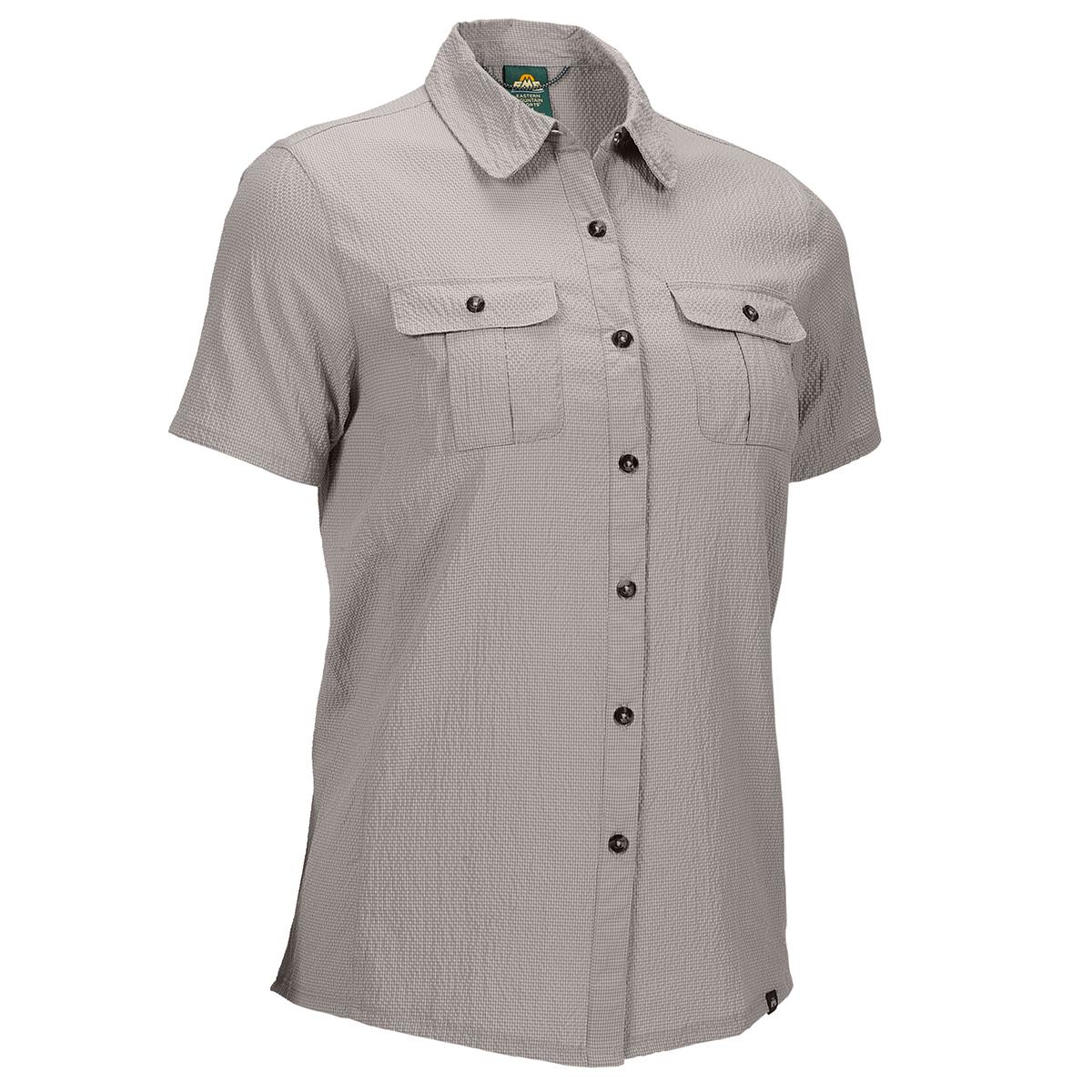 Ems Women's Bonus Miles Short-Sleeve Shirt - Brown, S