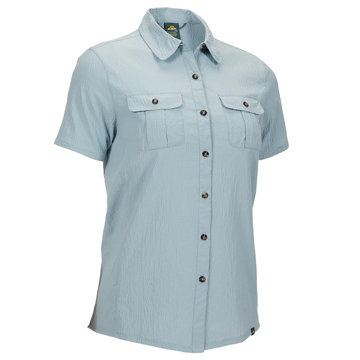 Ems Women's Bonus Miles Short-Sleeve Shirt - Blue, XS