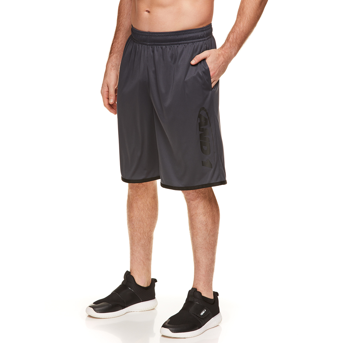 And1 Men's New Generation Classic Short - Black, S