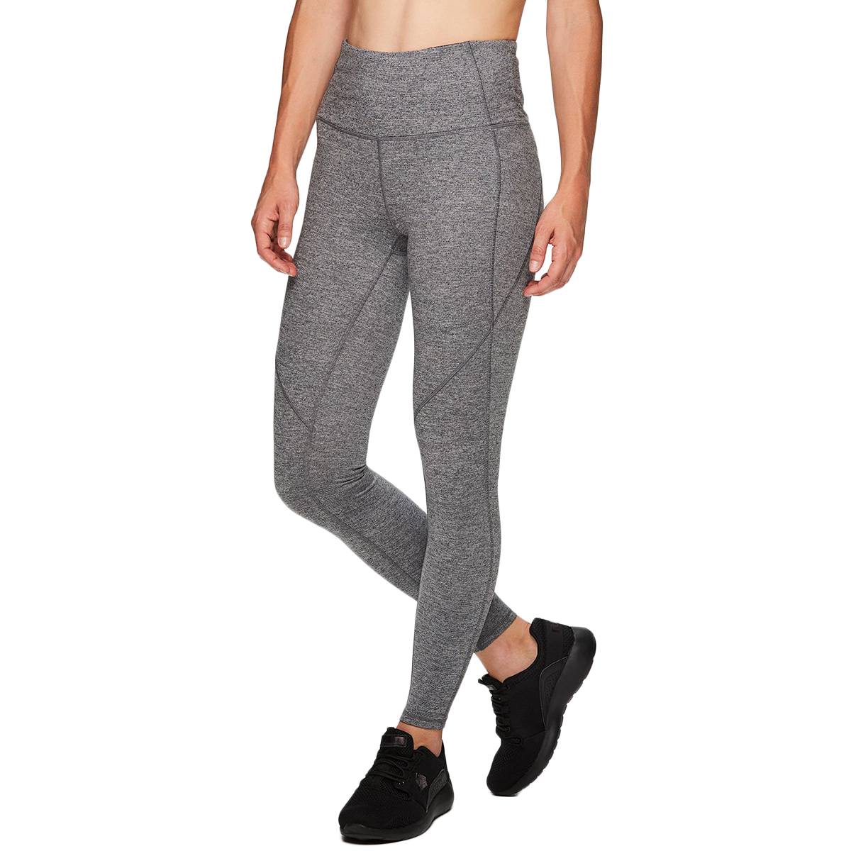 RBX Women's Stratus Leg Up High Waist Leggings - Black, L