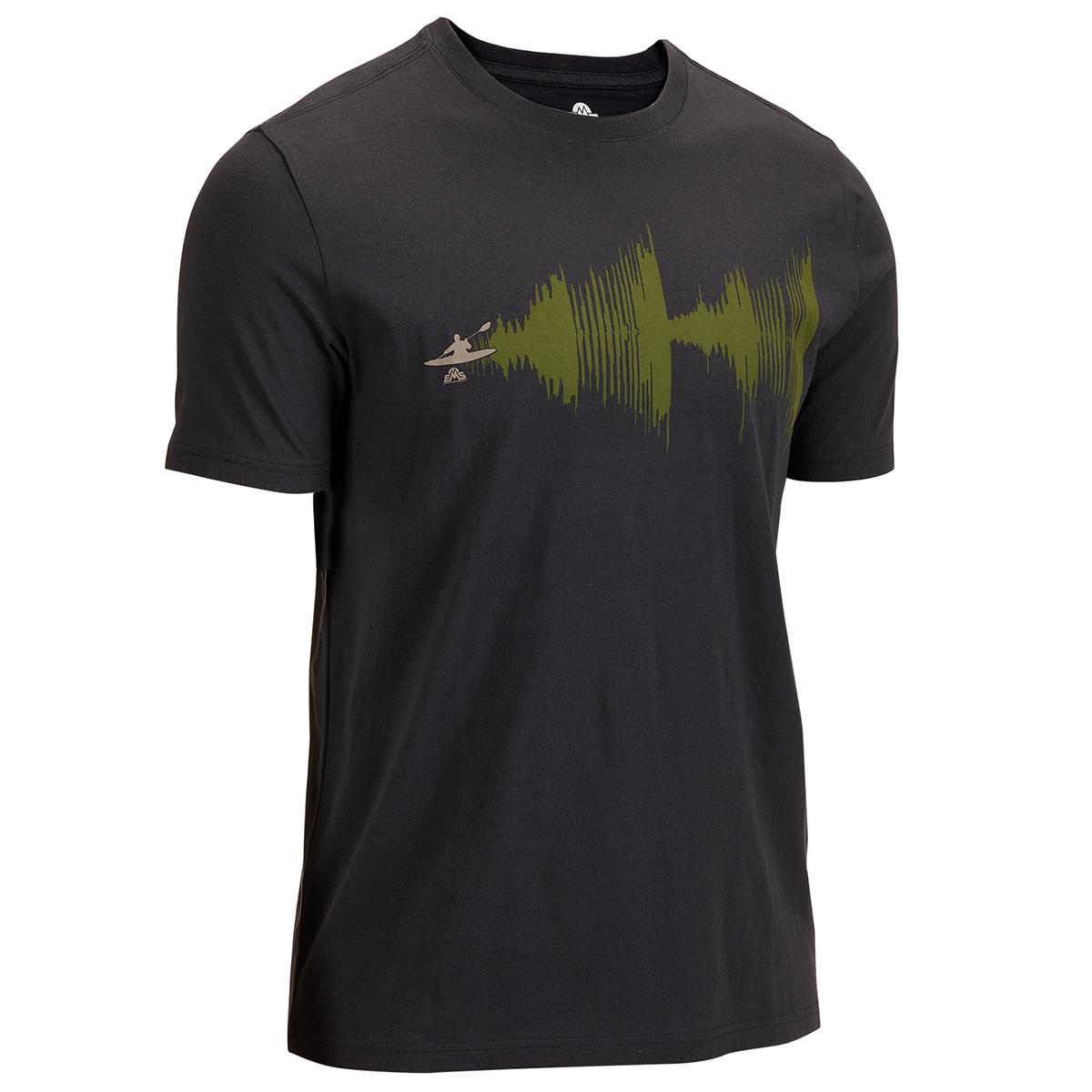 Ems Men's Short-Sleeve Graphic Tee - Black, M