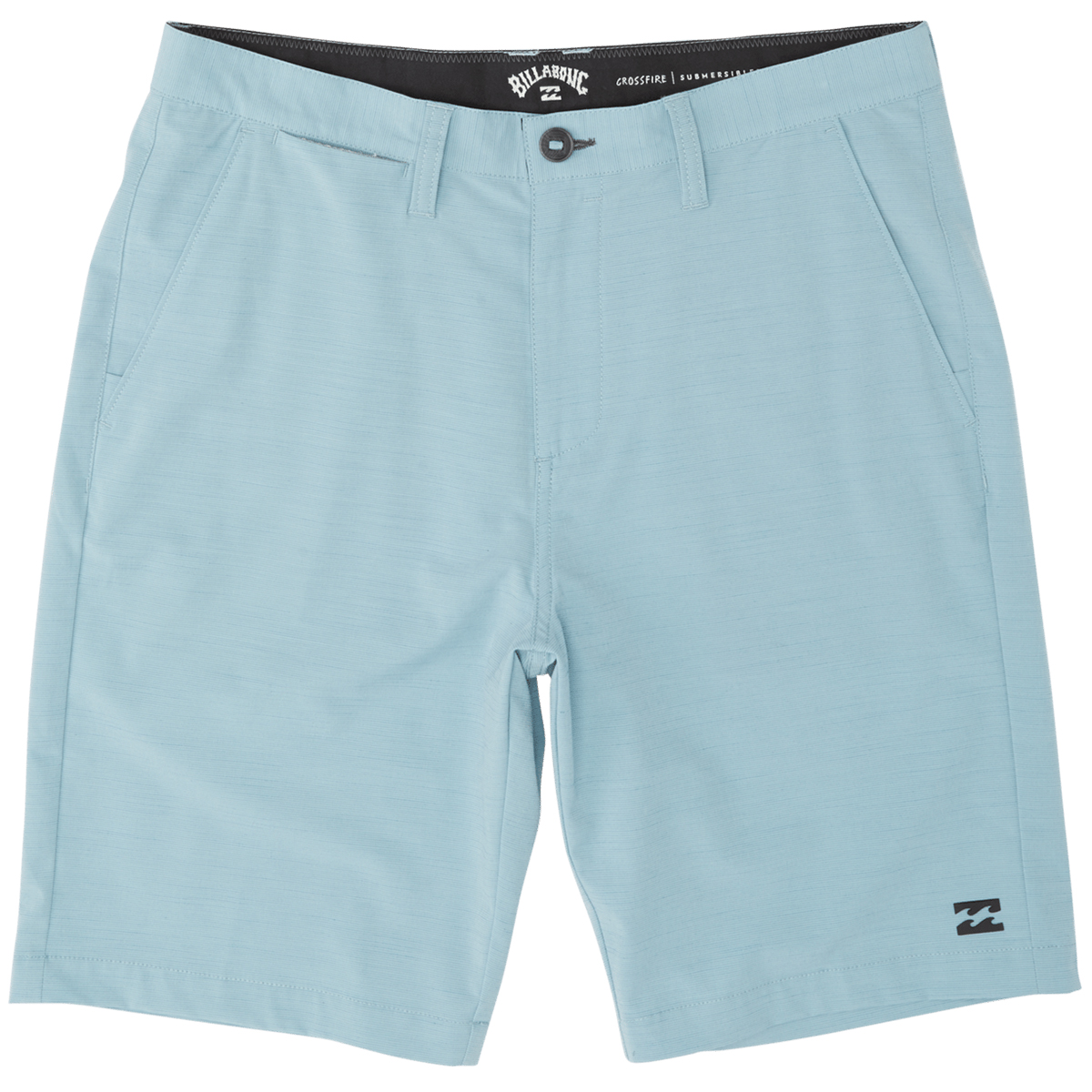 Billabong Men's Crossfire Slub Shorts - Blue, 36