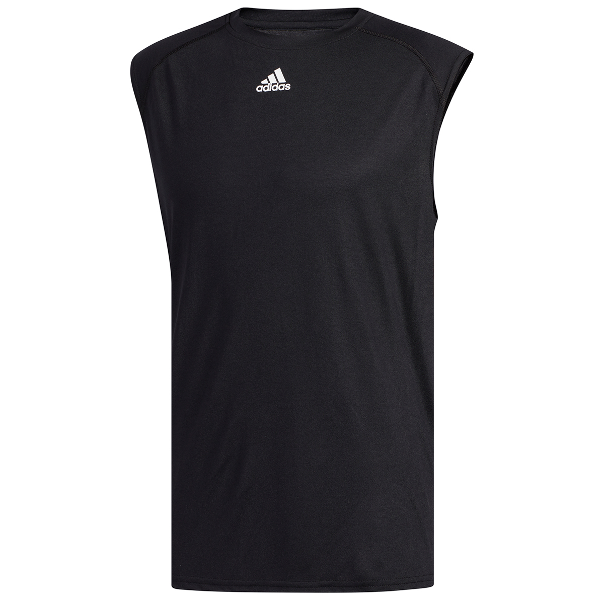 Adidas Men's Climalite Sleeveless Tee - Black, XXL