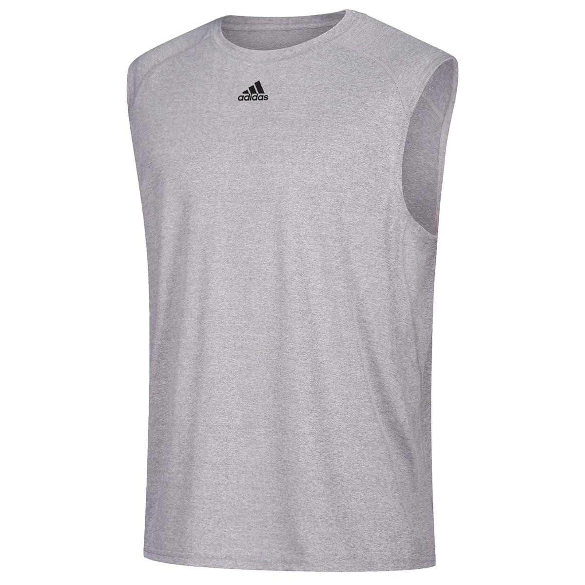 Adidas Men's Climalite Sleeveless Tee - Black, S