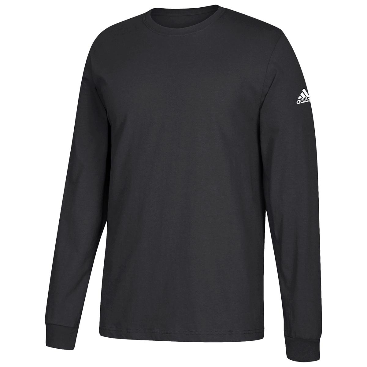 Adidas Men's Performance Long-Sleeve Tee - Black, S