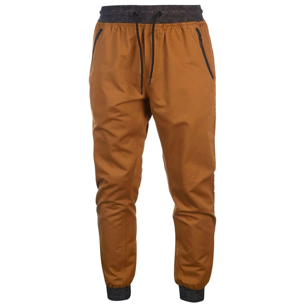 No Fear Men's Ribbed Waist Chino Pants - Various Patterns, 3XL
