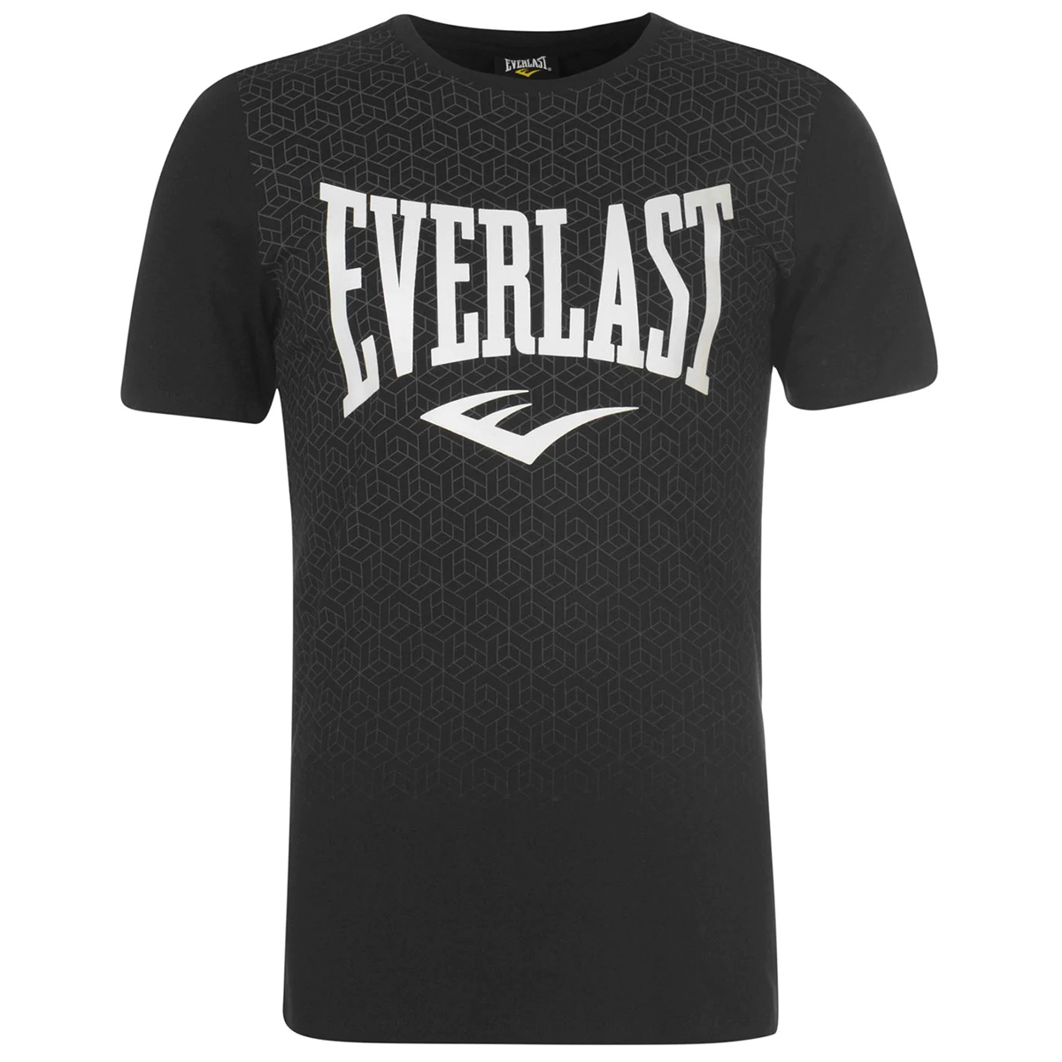 Everlast Men's Geo Print Short-Sleeve Tee - Black, 4XL