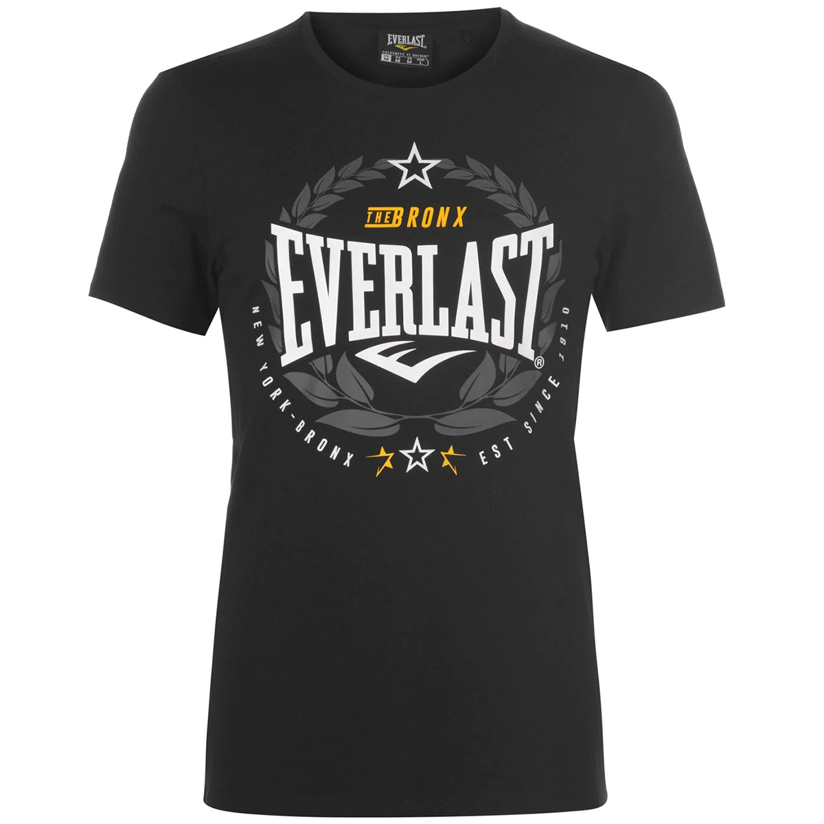 Everlast Men's Laurel Short-Sleeve Tee - Black, XS