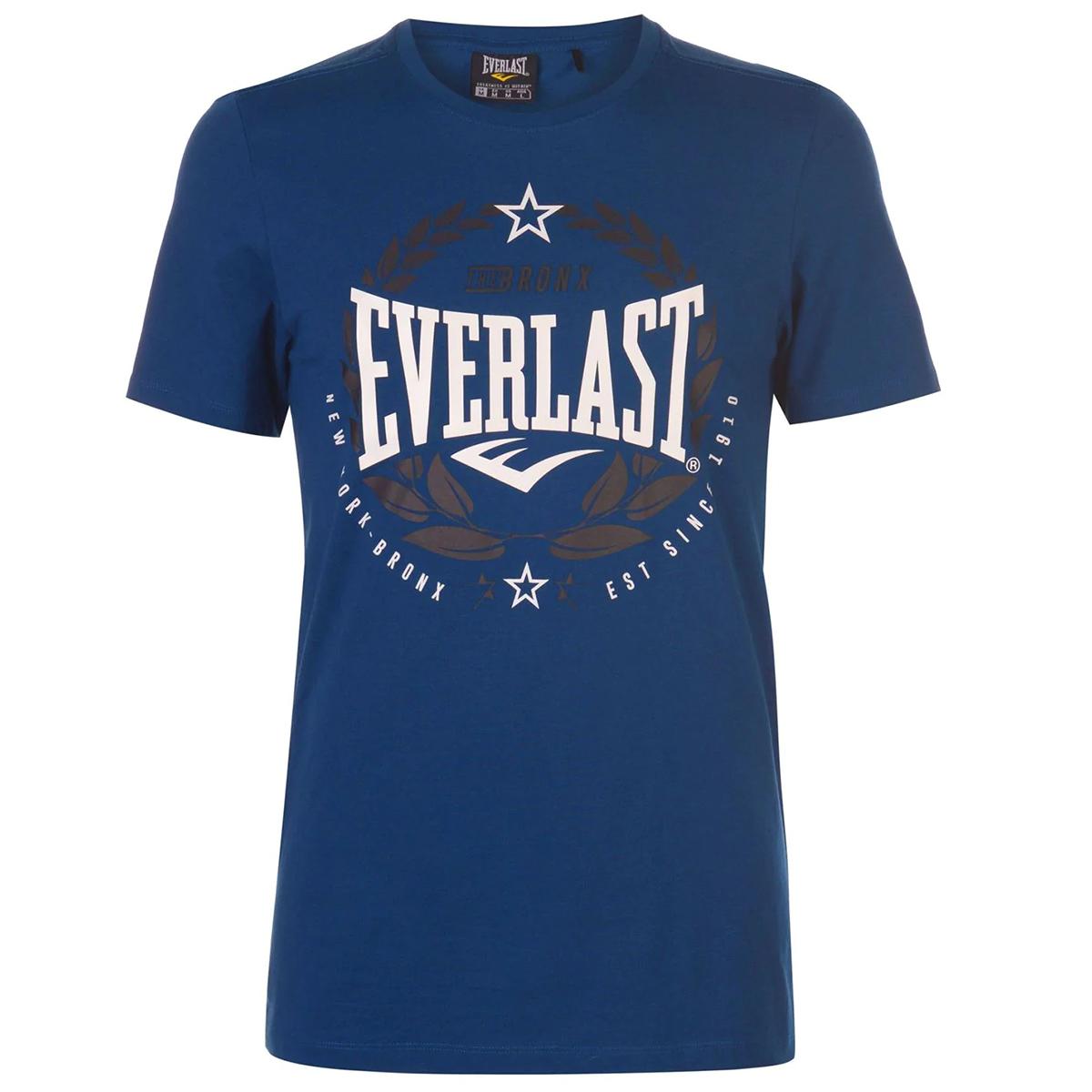 Everlast Men's Laurel Short-Sleeve Tee - Blue, XS