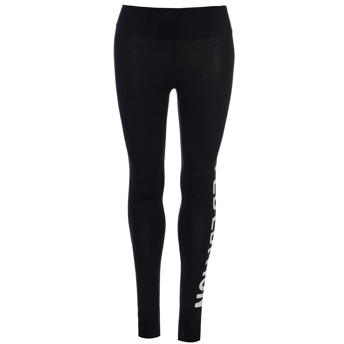 Golddigga Women's Long Length Leggings - Black, 2