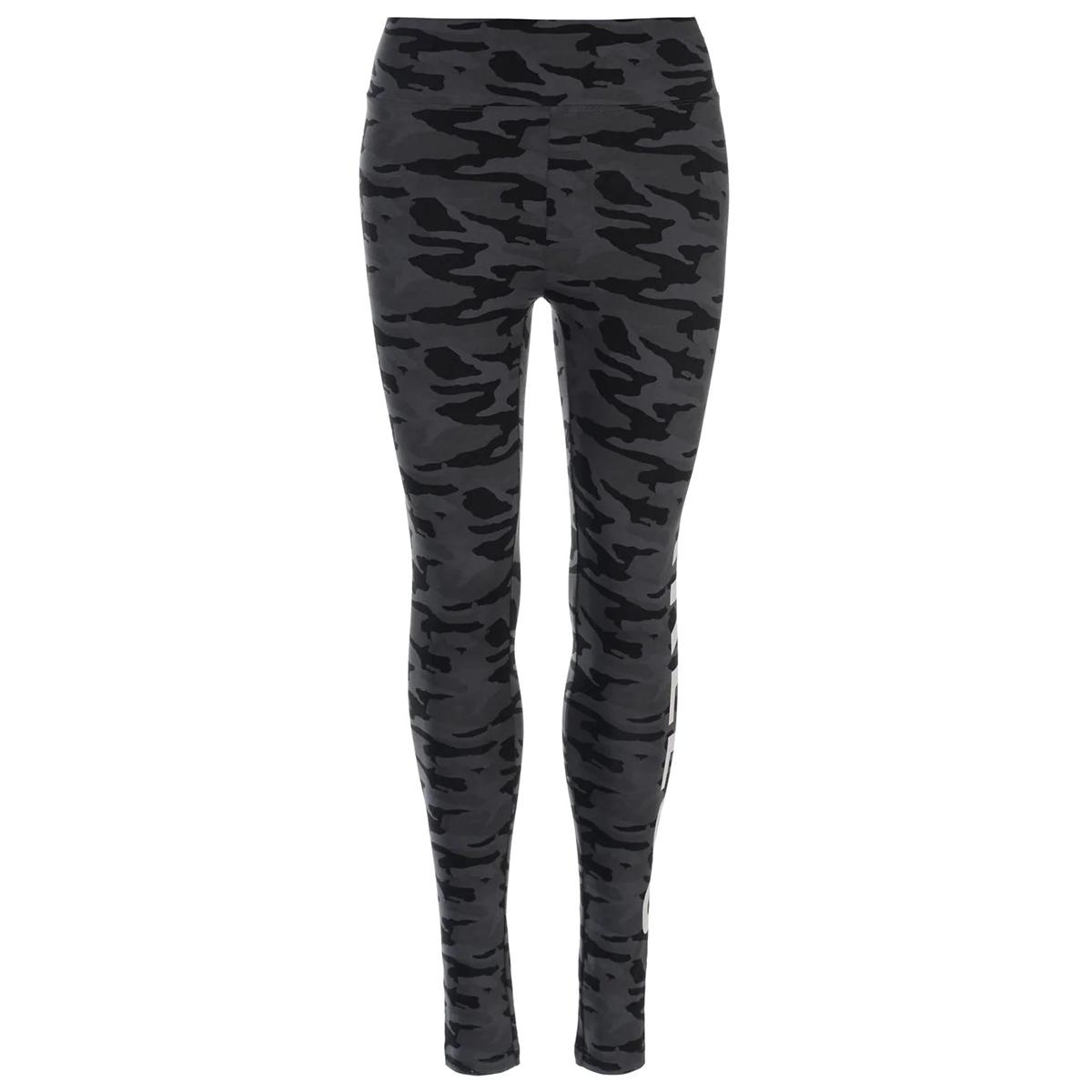 Golddigga Women's Aop Leggings - Black, 2
