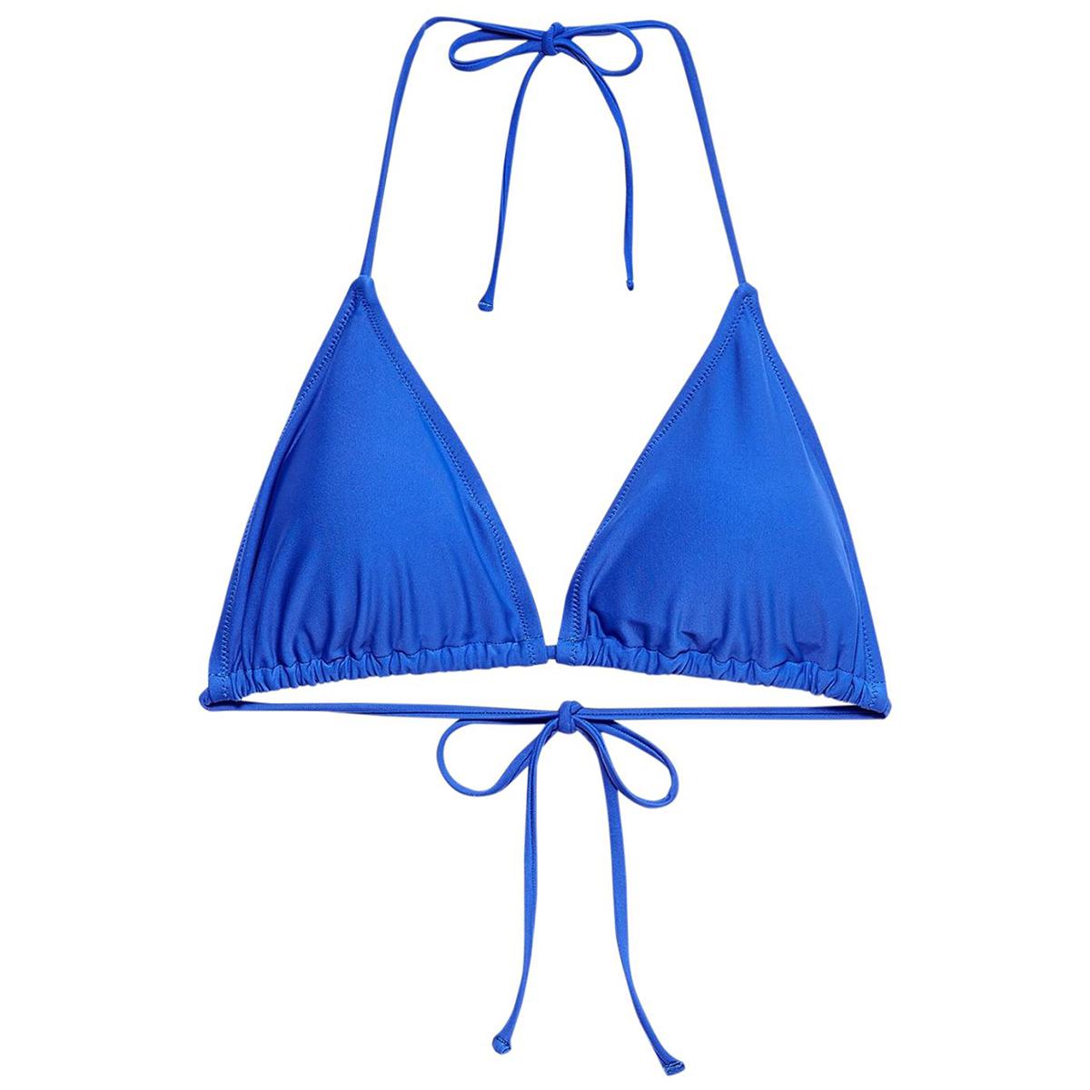 Jack Wills Women's Wilsham Bikini Top - Blue, 6