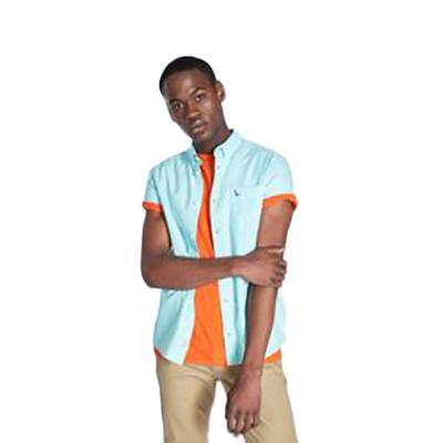 Jack Wills Stableton Oxford Short-Sleeve Shirt - Green, S