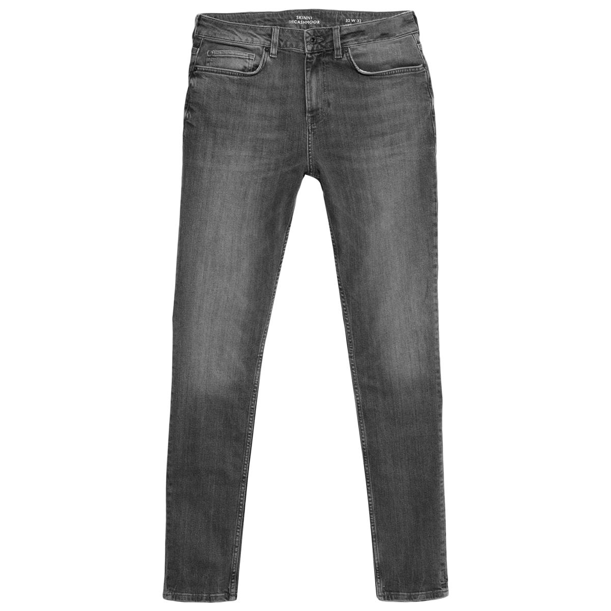 Jack Wills Men's Cashmoor Skinny Jeans - Black, 34/R