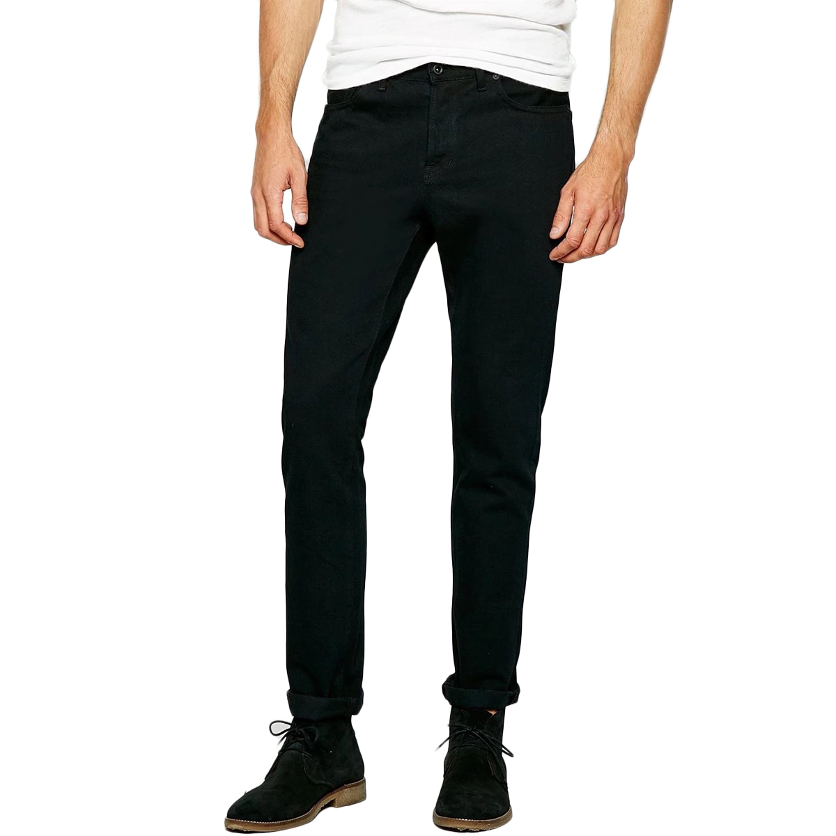 Jack Wills Men's Kirkham Slim Jeans - Black, 30/R