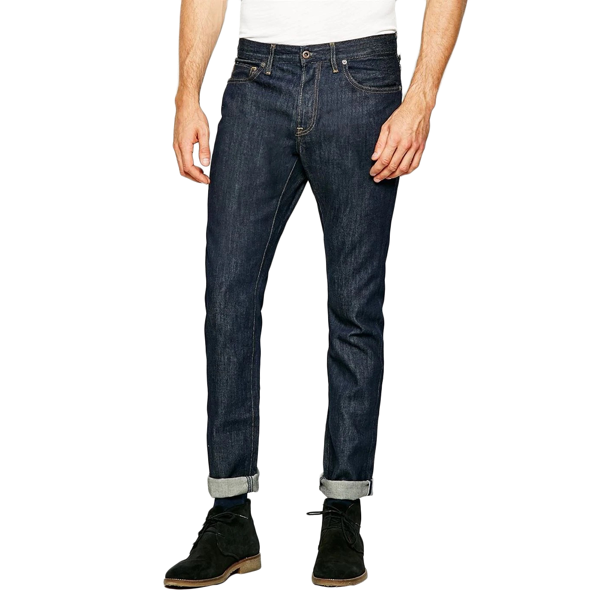 Jack Wills Men's Kirkham Slim Jeans - Blue, 30/R
