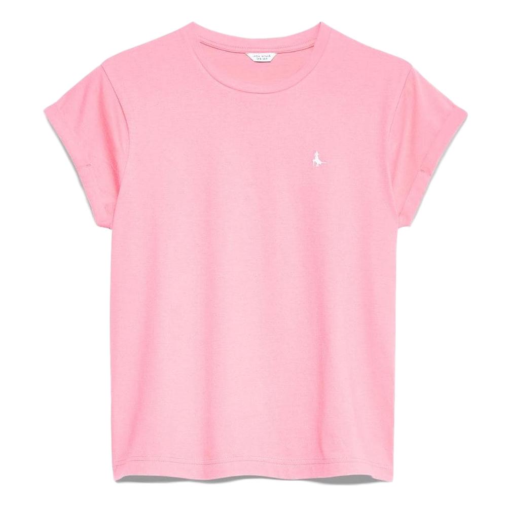Jack Wills Women' Endmoor Boyfriend T-Shirt - Red, 10