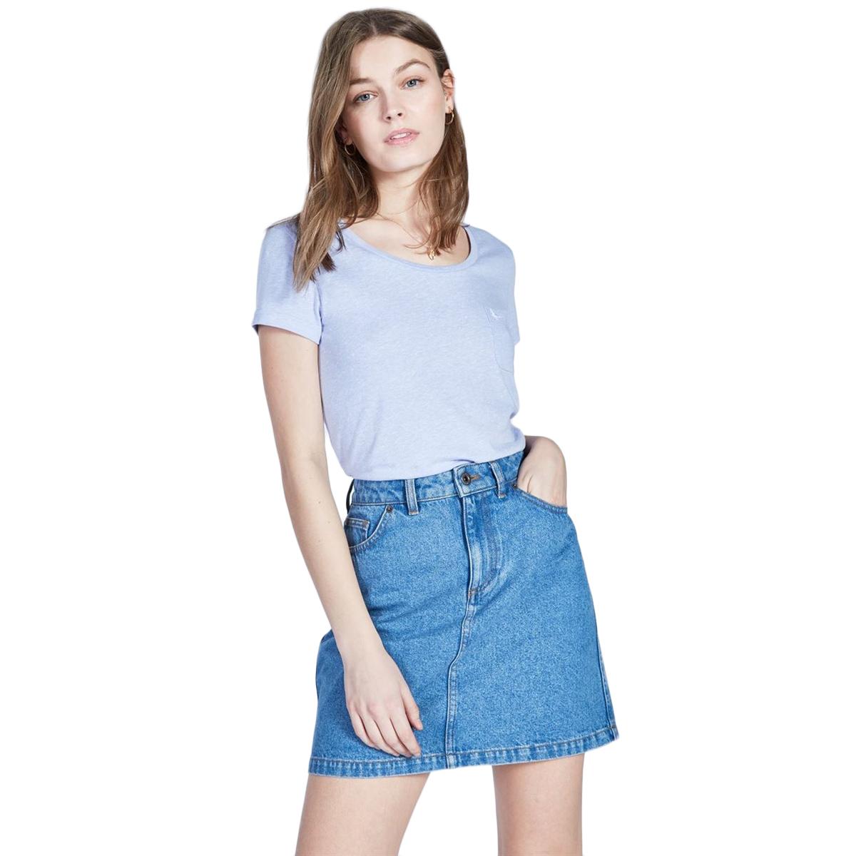 Jack Wills Women's Fullford Short-Sleeve Tee - Blue, 6