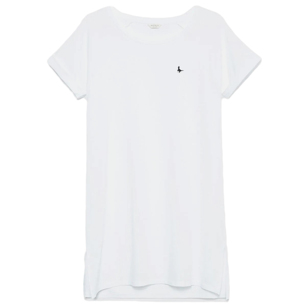 Jack Wills Women's Raglan Short-Sleeve Tee - White, 10