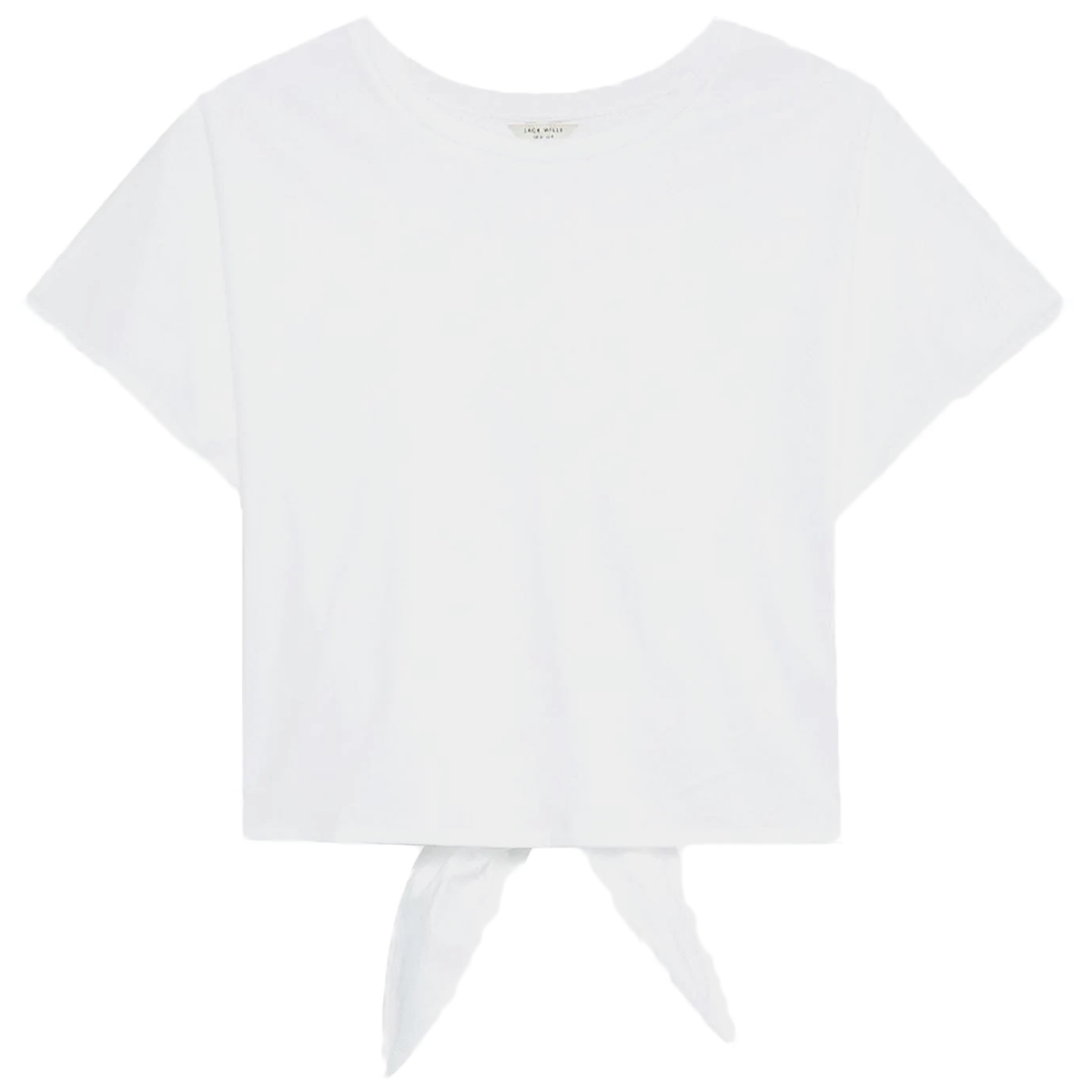 Jack Wills Women's Lorswood Bow Back Tee - White, 12