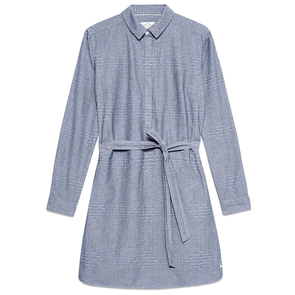 Jack Wills Women's Baysdale Shirt Dress - Blue, 6