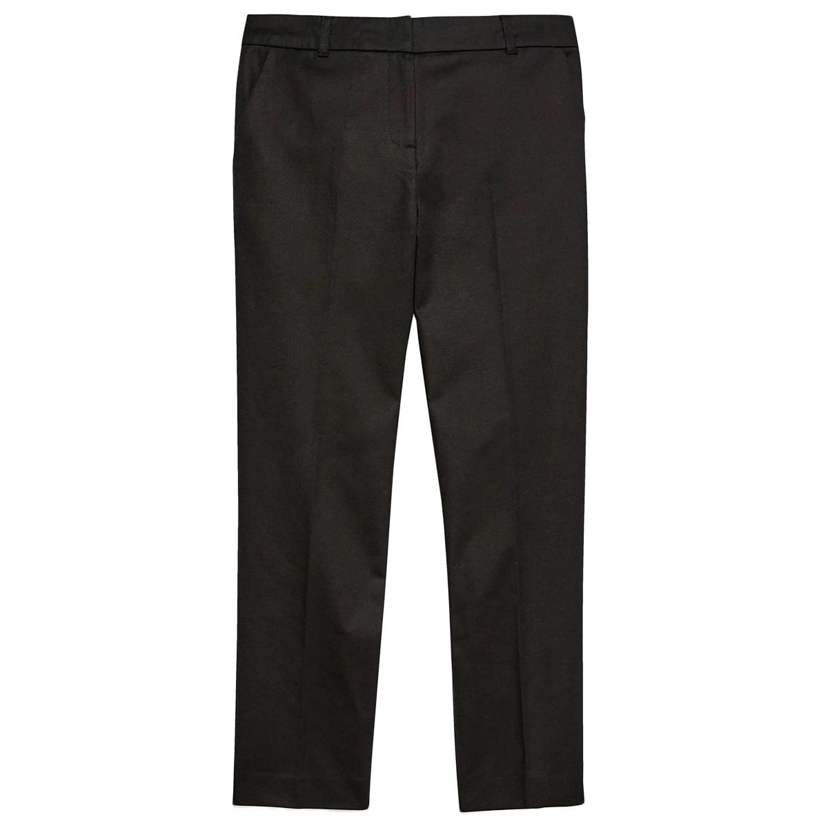 Jack Wills Women's Arianna Slim Trouser Pants - Black, 6