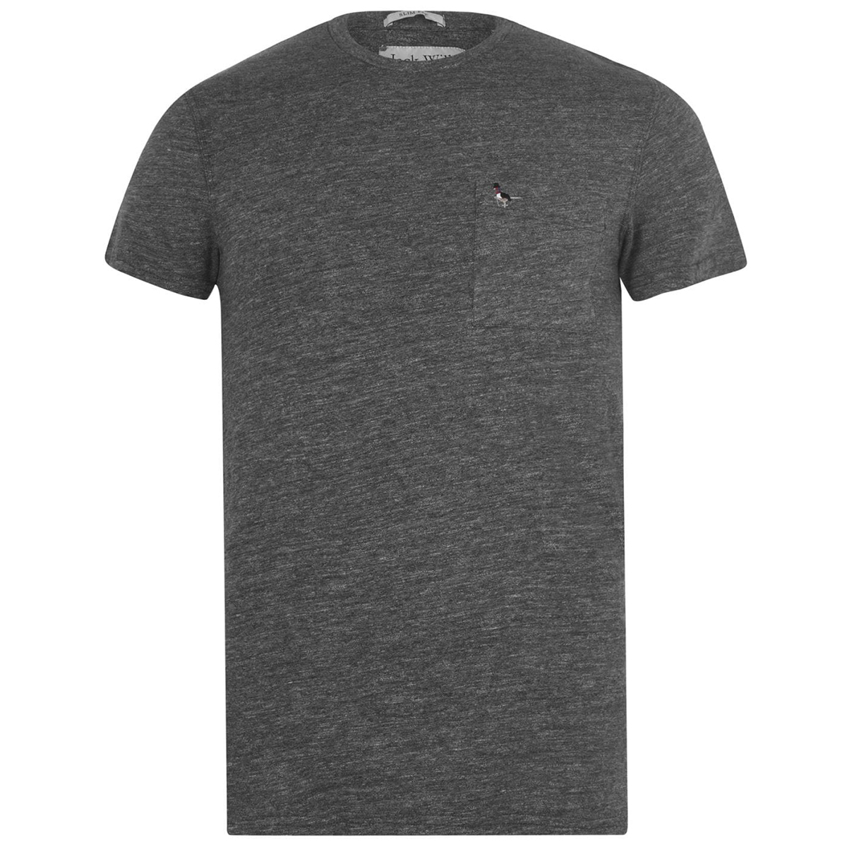 Jack Wills Men's Ayleford Pocket T-Shirt - Black, L