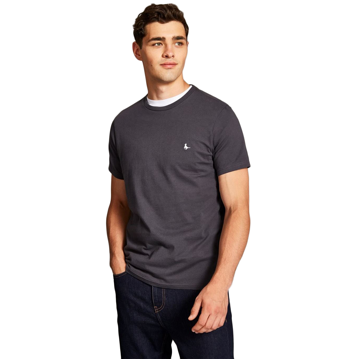 Jack Wills Men's Sandleford Short-Sleeve Tee - Black, M