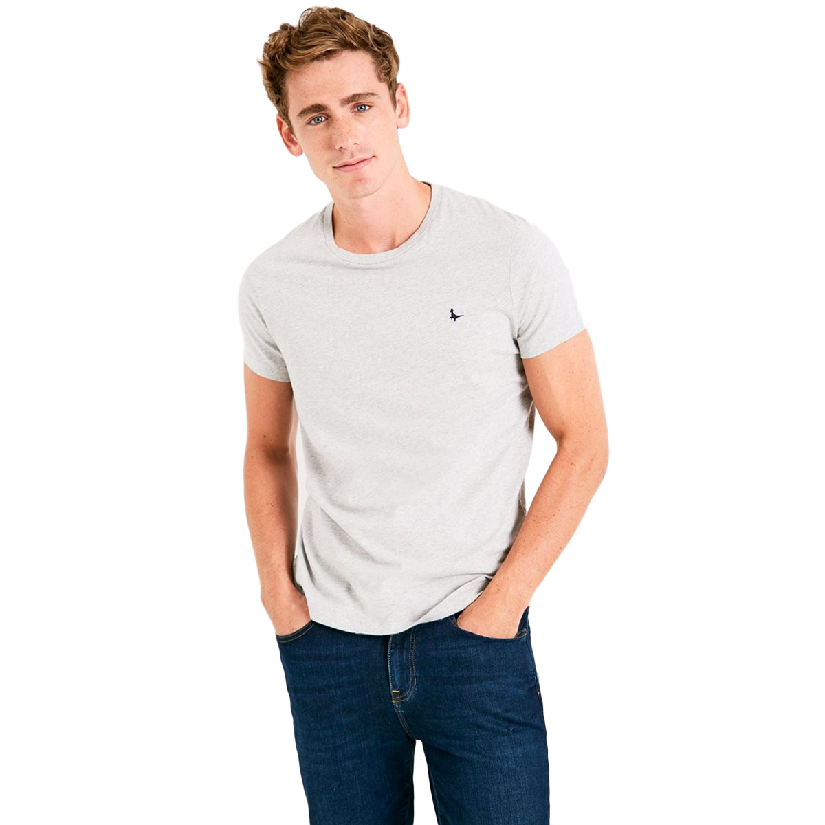 Jack Wills Men's Sandleford Short-Sleeve Tee - Black, XXS