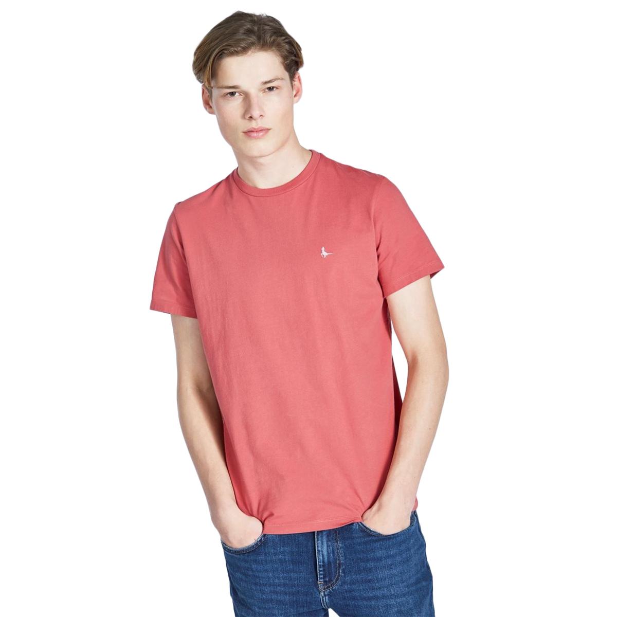 Jack Wills Men's Sandleford Short-Sleeve Tee - Brown, S