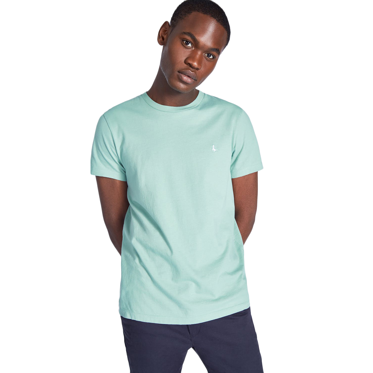 Jack Wills Men's Sandleford Short-Sleeve Tee - Green, M