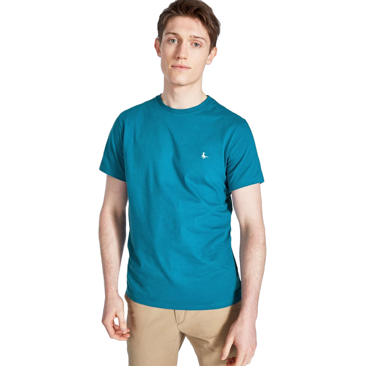 Jack Wills Men's Sandleford Short-Sleeve Tee - Blue, XS
