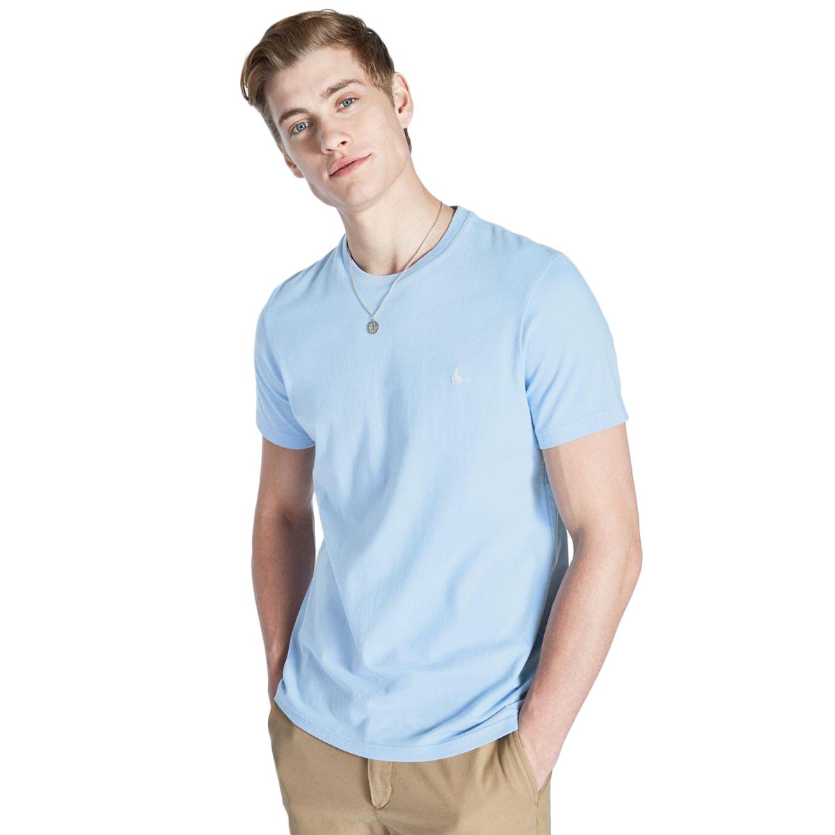 Jack Wills Men's Sandleford Short-Sleeve Tee - Blue, M