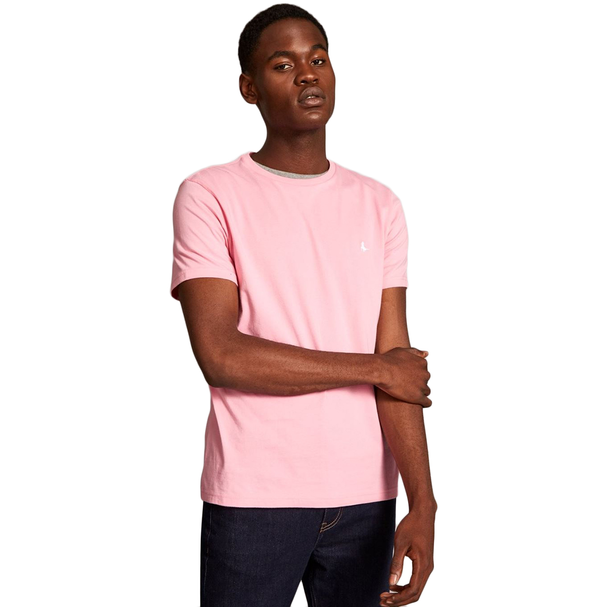 Jack Wills Men's Sandleford Short-Sleeve Tee - Red, M