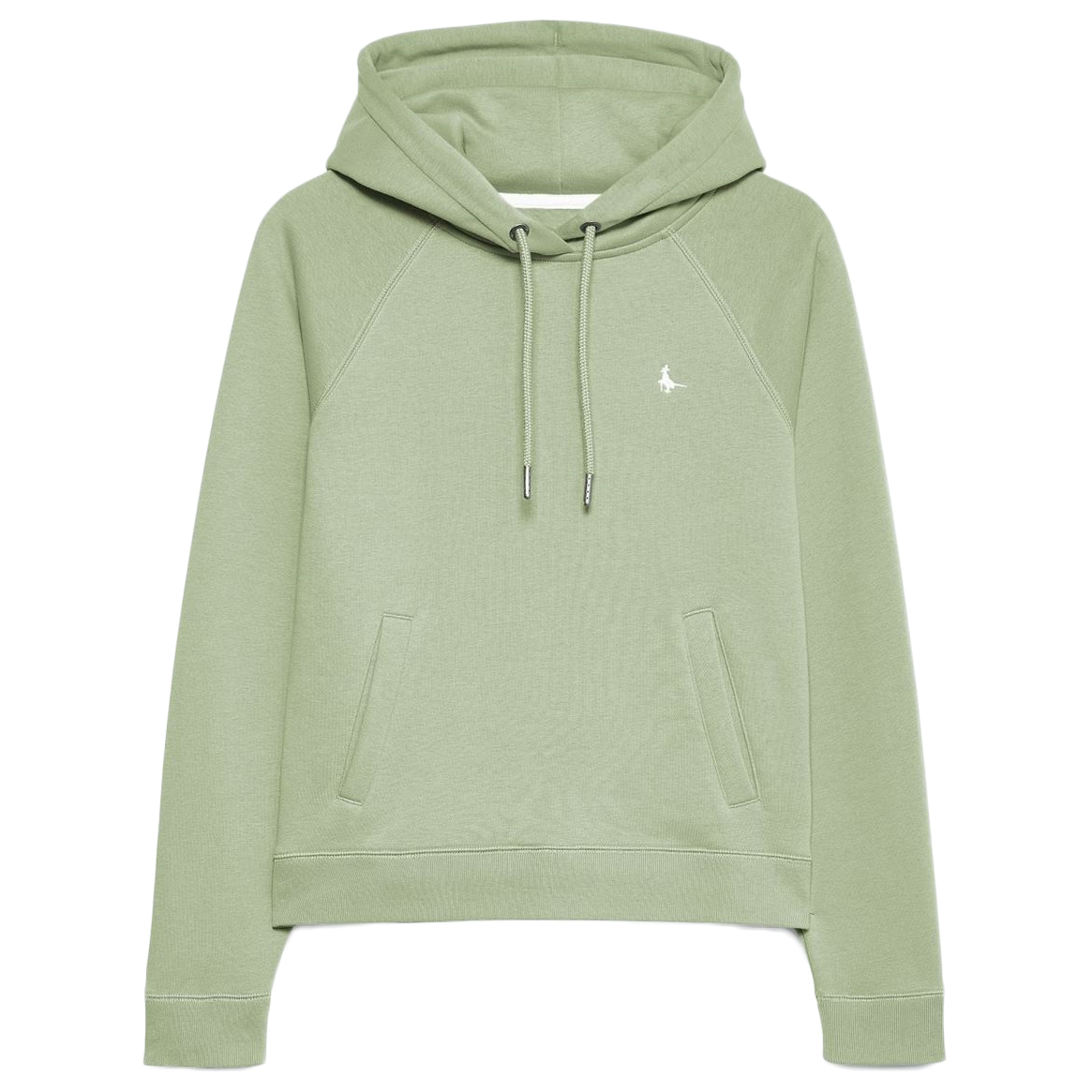 Jack Wills Women's Collingdon Raglan Hoodie - Green, 6