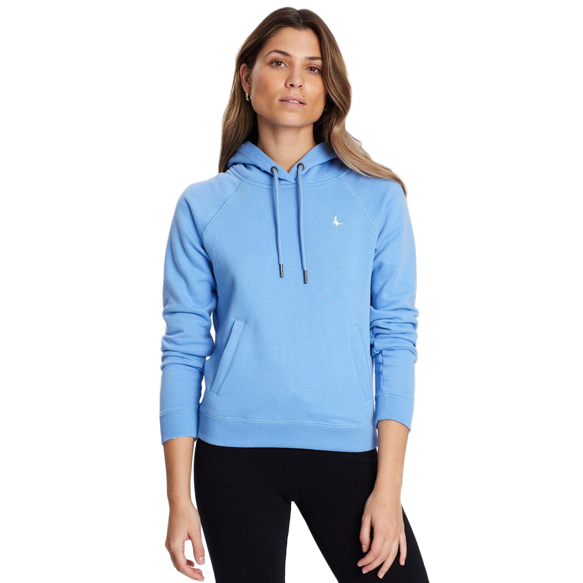 Jack Wills Women's Collingdon Raglan Hoodie - Blue, 2