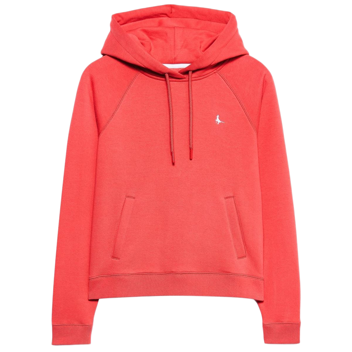 Jack Wills Women's Collingdon Raglan Hoodie - Red, 4