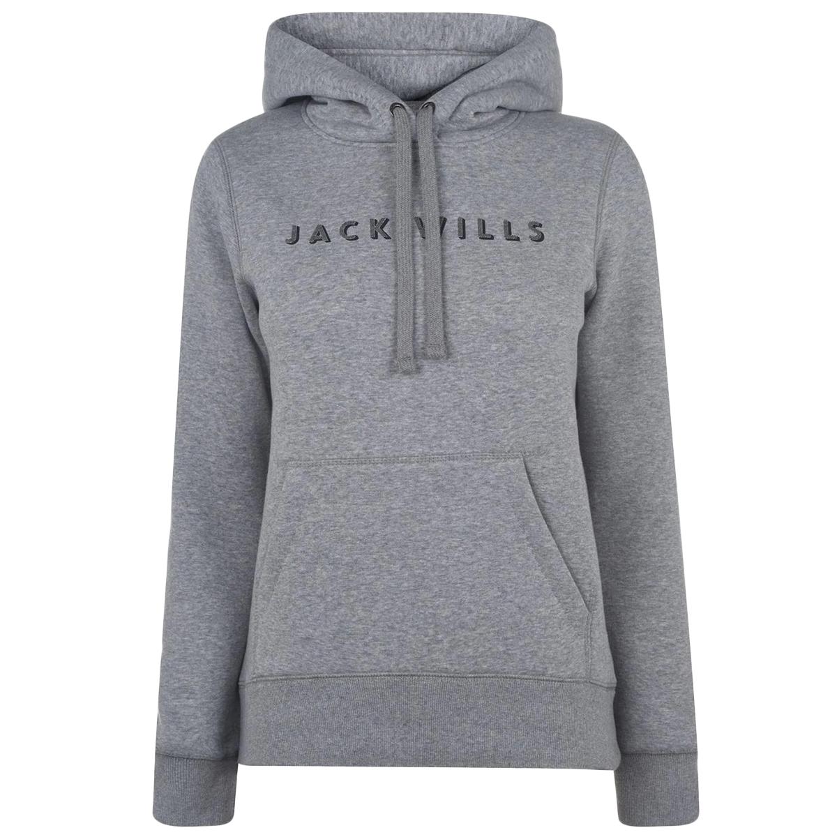 Jack Wills Women's Hunston Hoodie - Black, 10