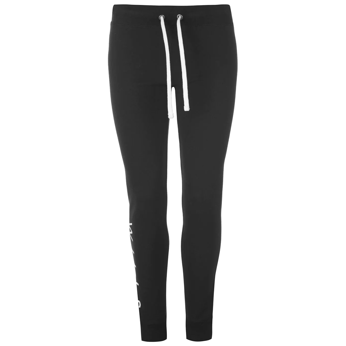 Jack Wills Women's Lingham Soft Skinny Joggers - Black, 8