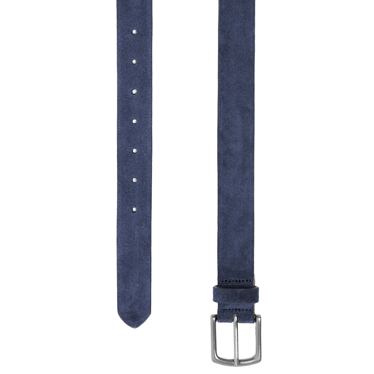 Jack Wills Men's Lavant Suede Belt - Black, L/XL