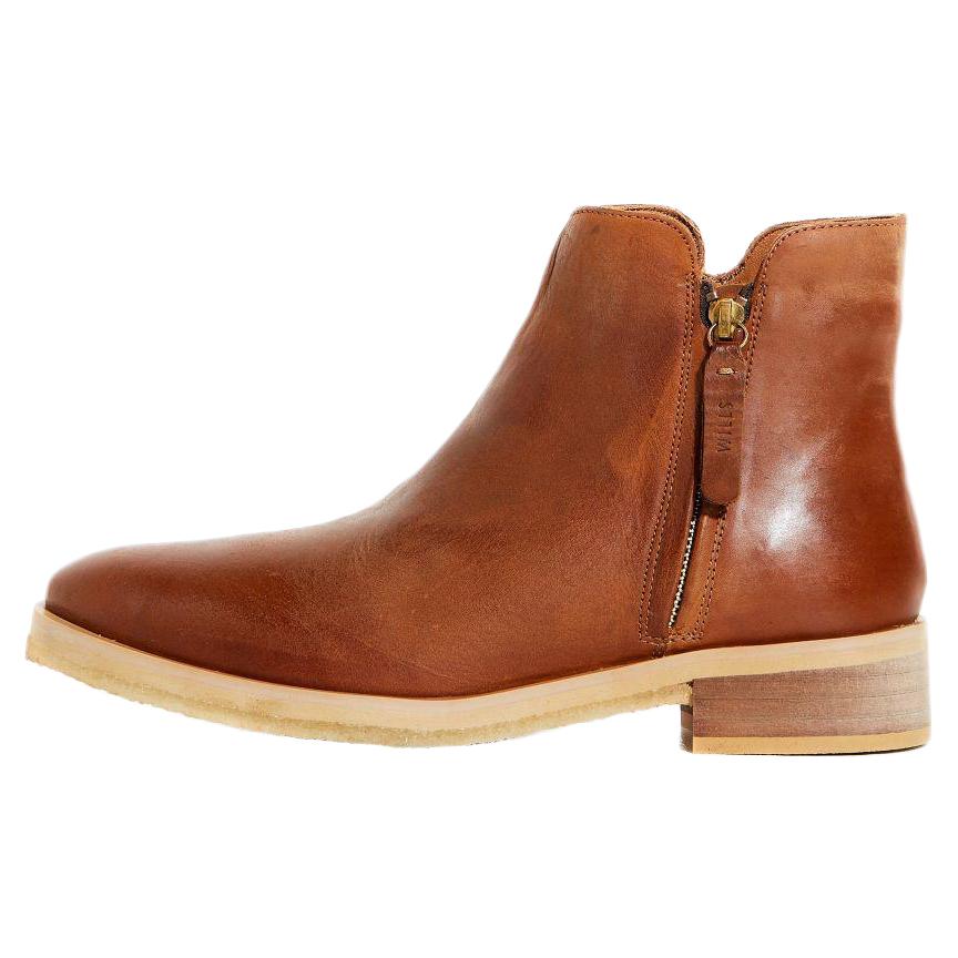 Jack Wills Women's Wherley Zip Ankle Boot - Brown, 7