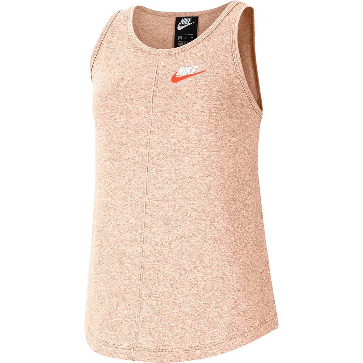 Nike Girls' 7-16 Nsw Tank - Red, S