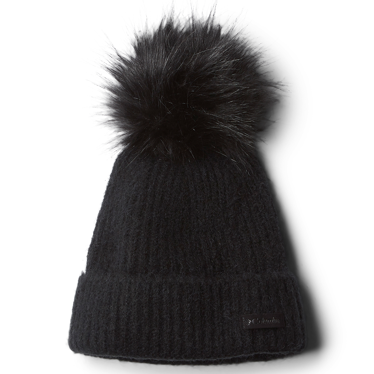 Columbia Women's Winter Blur Pom Pom Beanie - Black, ONESIZE