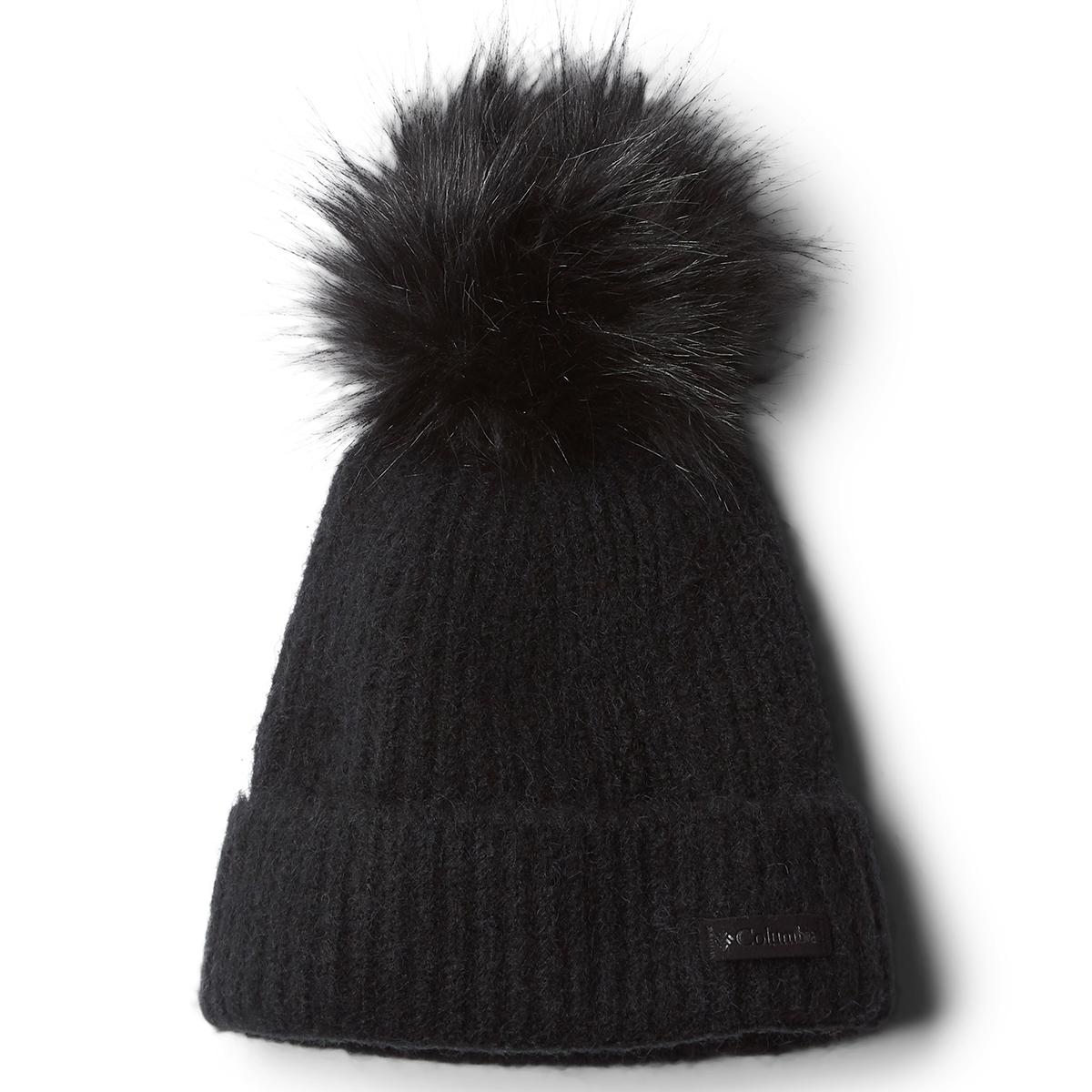 Columbia Women's Winter Blur Pom Pom Beanie - Black, ONESIZE