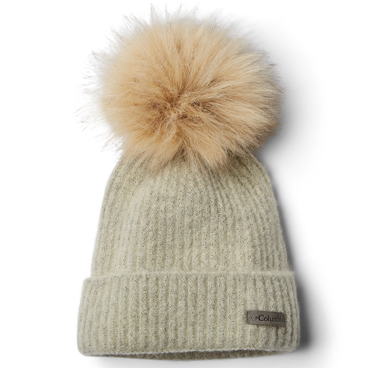 Columbia Women's Winter Blur Pom Pom Beanie - White, ONESIZE
