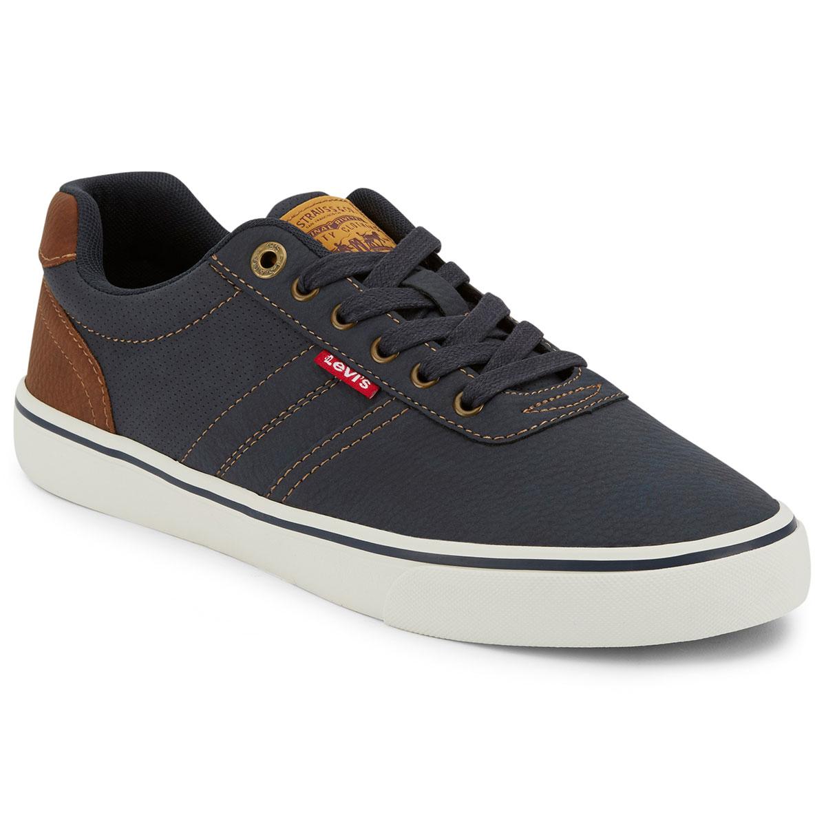 Levi's Men's Miles Tumbled Wx Sneaker - Blue, 8.5