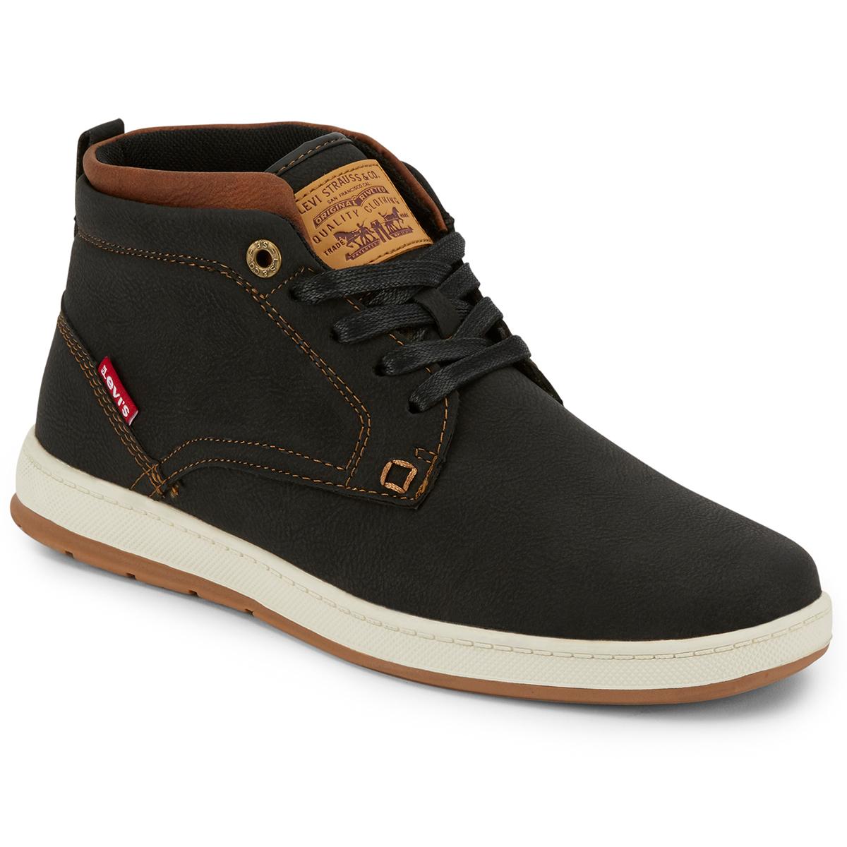 Levi's Men's Goshen Waxed Ul Nb Shoes - Black, 8