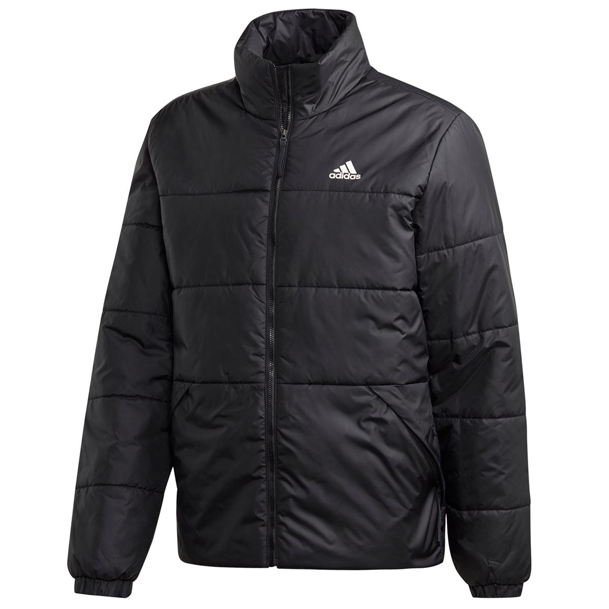 Adidas Men's Bsc 3Stripe Insulated Jacket - Black, XXL