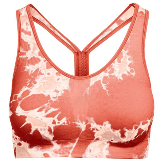 Champion Women's Infinity Tie Dye Sports Bra - Red, S