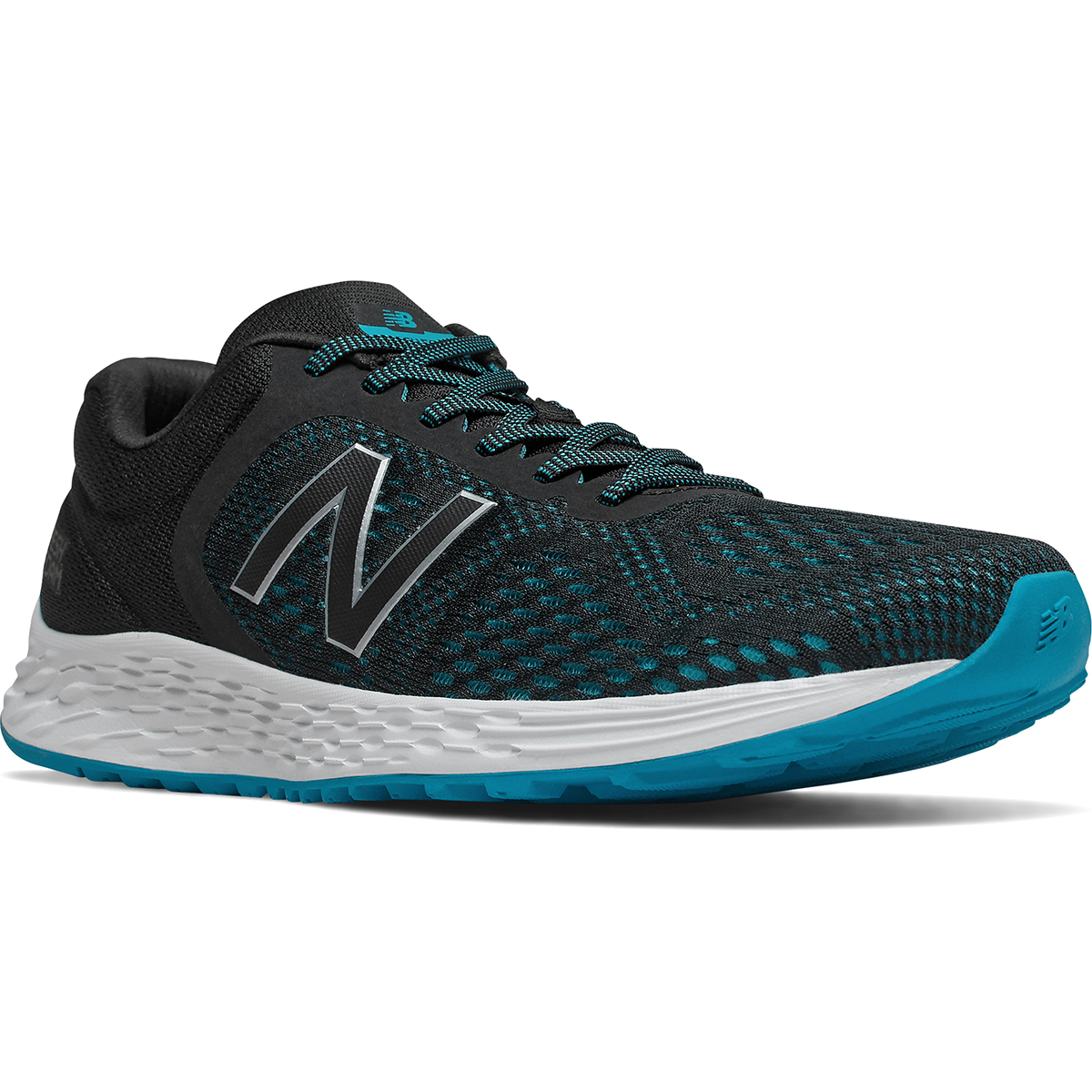 New Balance Men's Fresh Foam Arishi V2 Sneaker, Wide Width - Black, 7.5